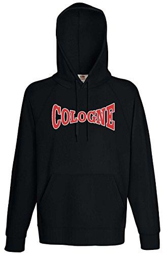World-of-Shirt Herren Kapuzensweat Köln Cologne Ultras Hoodie XL