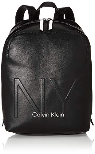 Calvin Klein Shaped Backpack - Zaini Donna, Nero (Black), 0.1x0.1x0.1...