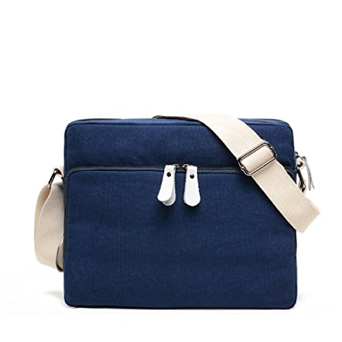 MiCoolker Versatile Men Canvas Messenger Bags Women Travel Shoulder Bags Handbags Sport Purse