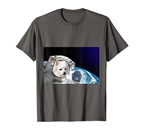 Dog in Space American Eskimo T-Shirt
