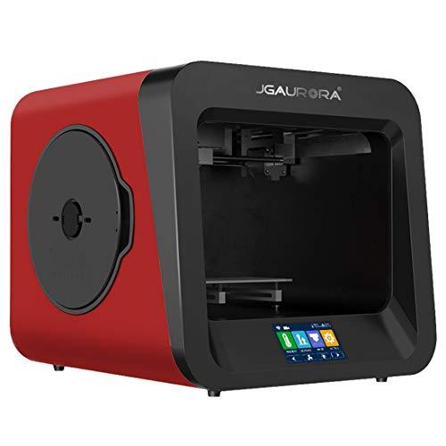 3D Printer A4 Bureau Haute Précision Plaque Métallique Haute Injection Cadre 3D Tridimensionnelle Physique Imprimante (Couleur : Red)