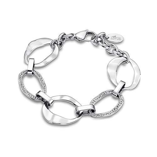 Lotus Style Steine Armband silber LS1672-2/1 Damen Schmuck Edelstahl JLS1672-2-1