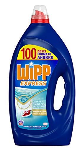 Wipp Express Detergente Líquido Azul 100 Lavados
