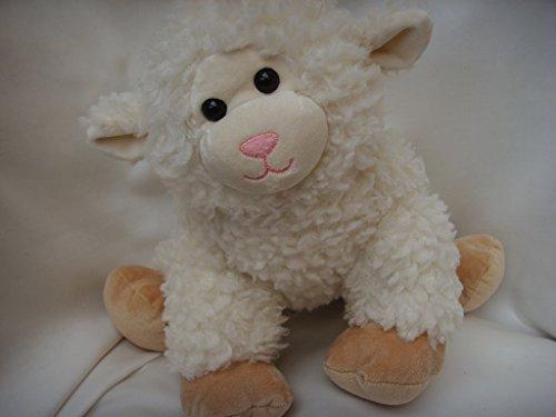 "Build a Bear Workshop White Sheep Lamb Plush Toy Large 15"" Easter Basket Collectible"