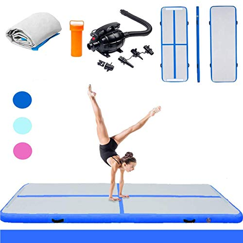 Triclicks Inflatable Air Tumble Gymnastics Mat With Electric Air Pump |...