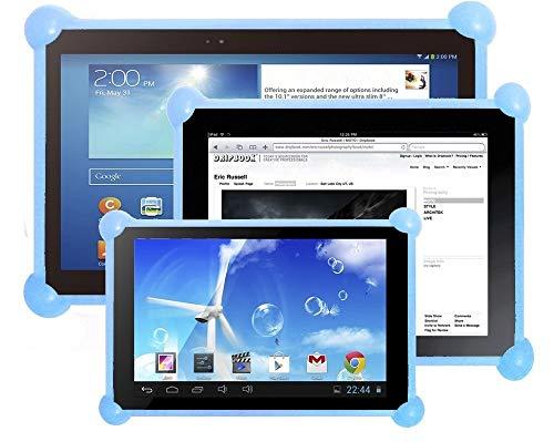 """Color Dreams Funda Tablet Silicona Universal Compatible con Cualquier Tablet de Cualquier tamaño como 7"""", 8"""", 9"""", 9.7"""", 10.1 Azul"""