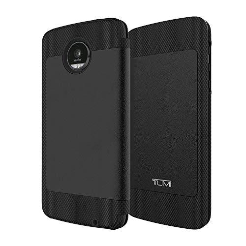 Tumi Folio Full Grain Leather Case for Motorola Moto Z Droid - Black