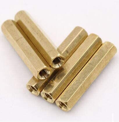 Lysee Screws - 50Pcs Very In a popularity popular M4 Brass to Standoff B Female Spacer