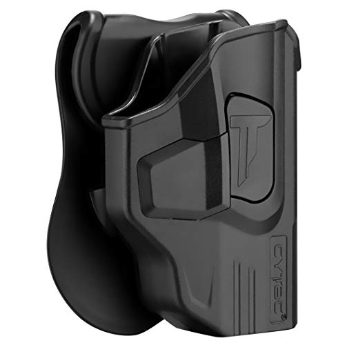 M&P Shield Holsters, OWB Holster for S&W M&P Shield 9mm/.40 3.1' / MP...