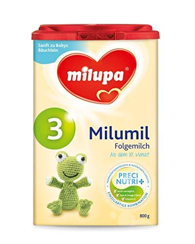 Milupa Milumil 3 Precinutri+ Folgemilch nach dem 6 Monat, 1er Pack (1 x 800 g)