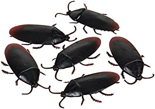 Aryellys Fake Cockroaches Prank 1.5 in 6 Pack Gag
