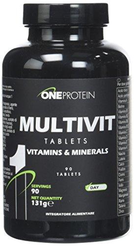 Multivit integratore alimentare multivitaminico/minerale a largo spettro 90 compresse