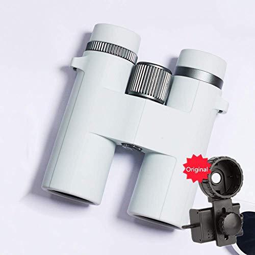 Binoculares para adultos, binoculares 10X42, telescopio dedicado para conciertos alta definición, telescopio portátil con cámara para teléfono móvil para niñas, más adecuado para ver recorridos