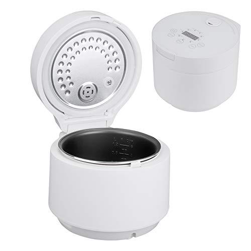 Mini Reiskocher 3 Liter Reiskocher Reiskocher Reiskocher klein mit Timer und Warmhaltefunktion zum Kochen, Aufwärmen (EU 220V)