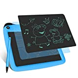 LCD Writing Tablets, Drawing Doodle Board 9 Inch Digital eWriter for Kids Portable Electronic Graphics Blue