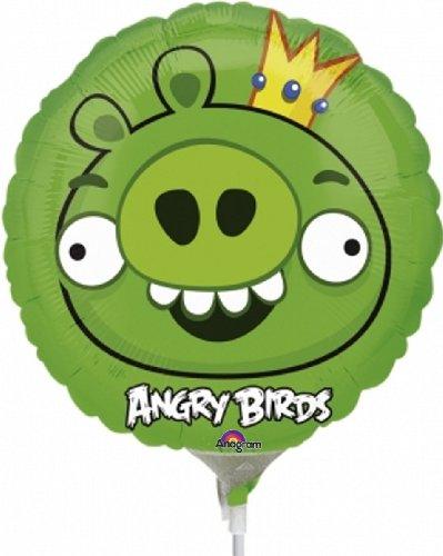 Anagram - Globo con palito cerdo angry birds