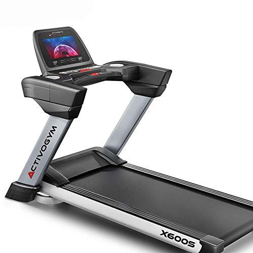 """ACTIVOGYM X600 Cinta de Correr Profesional. Pantalla Táctil 15,6"""",con WiFi, USB, Inclinación 18%; Sistema de Amortiguación; Sistema Autolobricación."""