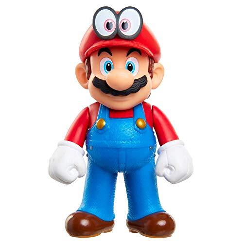 Figura de acción de Nintendo Mario and Cappy Super Mario Odyssey de 2,5