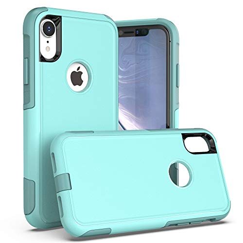Krichit Pioneer Series Case for iPhone XR Pioneer Case Heavy Duty Case iPhone XR Cases (Pioneer Aqua Sail)
