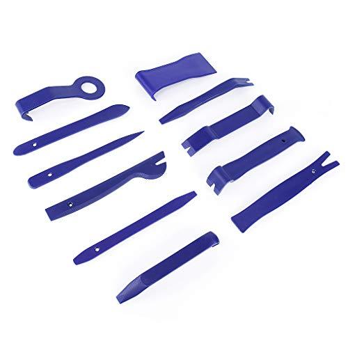 11 piezas del panel Clip Auto radio de coche puerta del panel interior herramientas de automóviles Tool Kit de revestimiento del salpicadero de apertura sistema herramienta de bricolaje Reparación