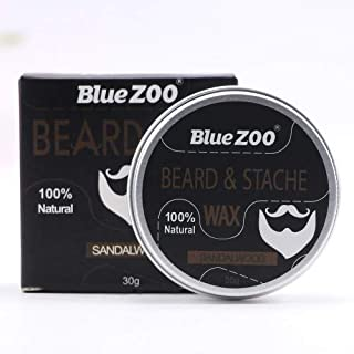 Shreeyas New 4 Tastes Beard Wax Natural Beard Wax Balm Hair Loss Products Leave-In Conditioner for Groomed Beard Growth Health Care Tools : 30g sandalwood