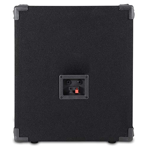 Max MAX12SUB 12' DJ PA Passive Bass SubWoofer Speaker 400W RMS Disco Party
