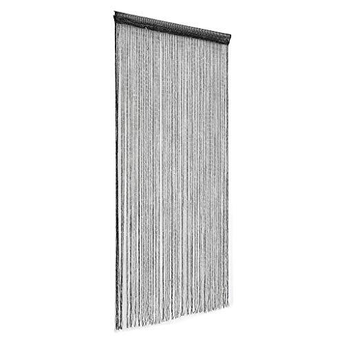 Mosquitera Puerta Mosquitera Magnética para Puerta Pantalla de paneles de la cortina de cadena moderna del brillo Tabique de la ventana de la puerta de la franja de cortinas decoración del hogar,95