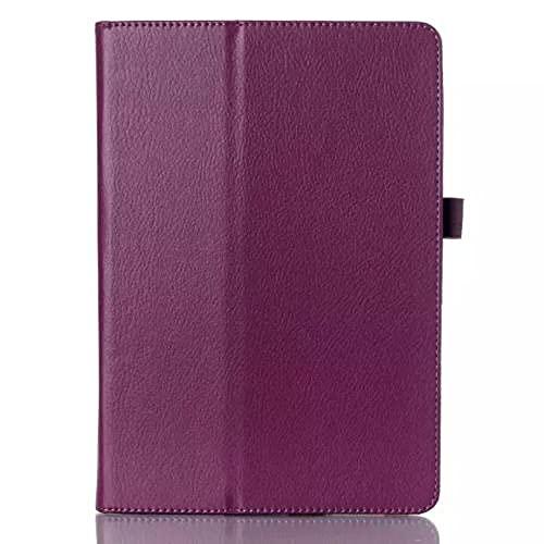 Couverture de boîtier en Cuir PU pour Samsung Galaxy Tab S2 9,7 Pouces T810 T813 T815 T819 SM-T810 SM-T813 SM-T815 Tablet-Mauve