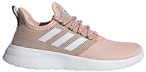 adidas Women's Lite Racer RBN Running Shoe, Glow Pink/White/Onix, 8.5 M US
