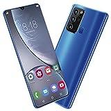 Hilitand Note20Ultra Smart Phone, 6.26in QHD+ Water Drop Screen Smartphone, 1GB + 32GB Fingerprint Unlock Mobile Phone, 2050mAh Battery, 480 × 1014 Resolution(US)
