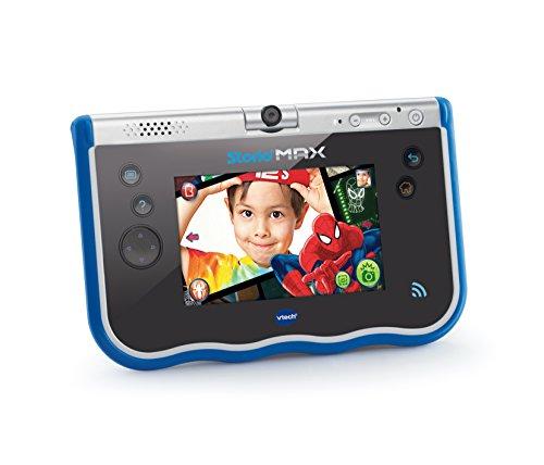 "VTech- Storio MAX Tablet Educativa para Niños, Multifunción, Pantalla Táctil de 5"", Cámara Giratoria 180º, Fotos y Vídeos, Color Azul (3480-183822)"