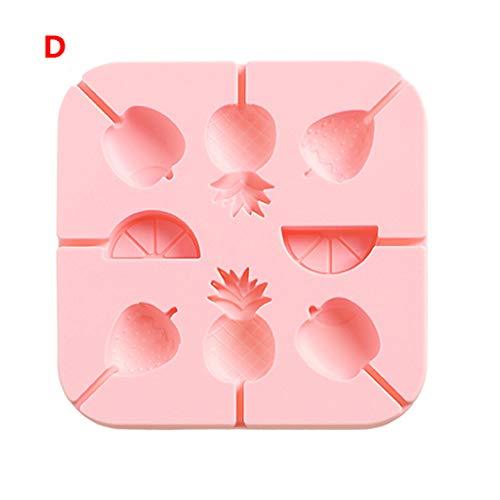 BEECM Craft DIY Moulds Lollipop Silicone Mold Hygiene Health Fondant Mould Easy to Demould Dessert Molds Bakeware Making Mould Tool