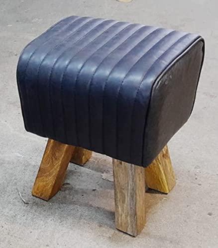 AMBIENTE-LEBENSART.DE Turnhocker Sitzhocker-Fusshocker-Turnbock-Holzschemel-Ottomane-Beistelltisch-Badezimmer-Konsole-Nachttisch Massiv-Vollholz