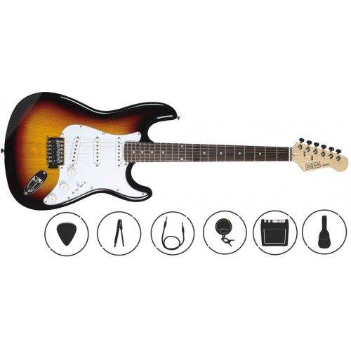 OQAN QGE-ST25 SB PACK DE GUITARRA ELECTRICA: Amazon.es: Instrumentos musicales