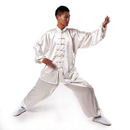 Andux kampfsport tai chi uniform kung fu uniformen unisex ss tjf01 XL