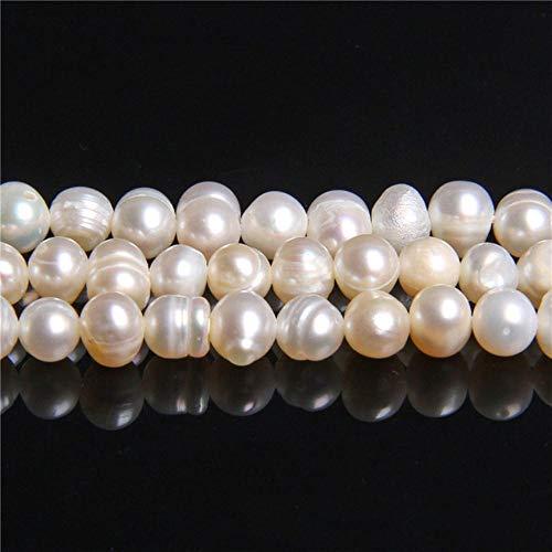 Echte natuurlijke parels kralen zoetwater parel kraal barok losse perles voor diy ambachtelijke armband ketting sieraden maken 14,5