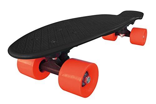 Streetsurfing Skateboard New Fizz Board, Black/Red, 500207