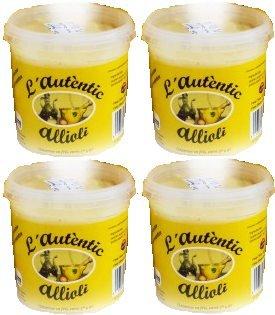 Salsa Allioli L'autentic tarro de 140 g. [PACK 4 UNIDADES]