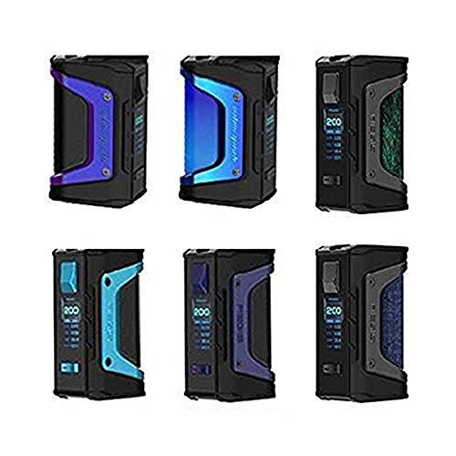 Cigarrillo electrónico GeekVape Aegis Legend 200W TC Box MOD Nuevo AS chipset e cigs Sin batería Aegis Legend MOD bolsa de vapeonly No nicotina (azul marino)
