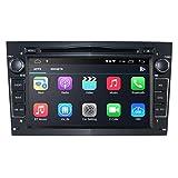 2 DIN Car Radio con Android 10 Sistema Multimedia de Pantalla táctil de 7 Pulgadas + CANBUS para Opel Antara/Astra H/Meriva Soporte Mirror-Link Bluetooth WiFi 4G GPS RDS SWC (Negro)