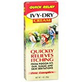 Ivy Dry Cream Size 1z Ivy Dry Quick Itch Relief Cream