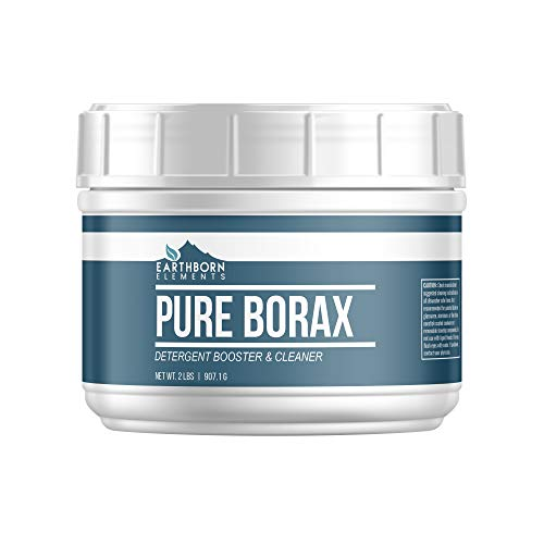 Borax Powder (2 lb) Multipurpose Cleaner & Detergent Booster, Resealable Tub