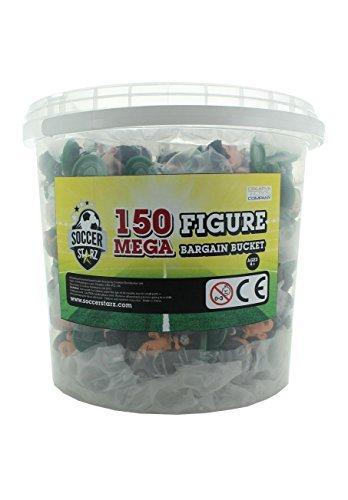 SoccerStarz Mega Bargain Bucket Figure Blister Pack (150-Piece) by SoccerStarz