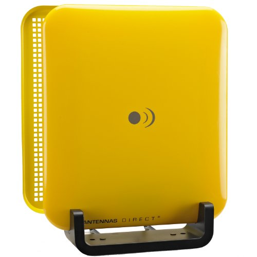 Antennas Direct, inc CSM1-WS-YEL Clearstream Micron Indoor DTV Antenna with Reflector (Vibrant Yellow). Buy it now for 24.90