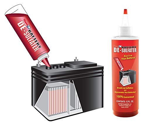 Thermoil Battery De-sulfator Battery Additive 12 Fluid Ounces Refurbishes & Repairs Your Sulfated Batteries. Rejuvenate Your Batteries with Battery De-Sulfator. Proven Protection and So Much More!