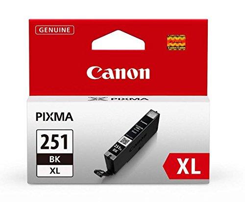 Canon CLI-251XL Black Ink Tank Compatible to MG6320 , IP7220 & MG5420, MX922, MG5520, MG6420, MG7120, iX6820, iP8720, MG7520, MG6620, MG5620