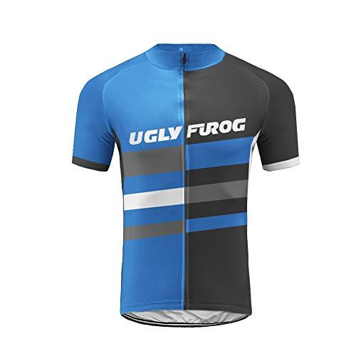 Uglyfrog+ New Sommer Herren Männer Kurze Hülse Zyklus Jersey Kurzarm Fahrradtrikot Fahrrad Hemd Fahrrad Radfahren Trikot Cycling Jersey Bike Shirt