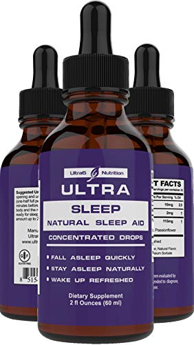 Melatonin Sleep Supplement w/ Valerian Root, 5 HTP & Passion Flower. This Natural Sleep aid absorbs Better than Sleeping pills and Valerian Root Capsules - An Anxiety Relief blend for Sleep Apnea.