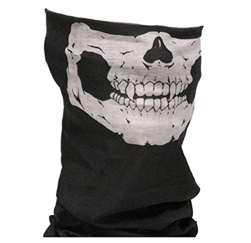 Raphia Art Skull Face Bandana – Dark Ride