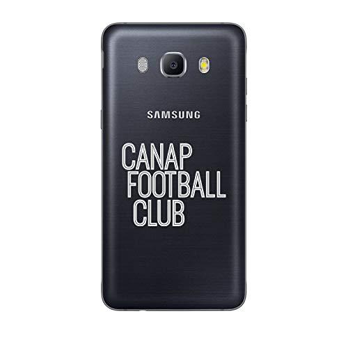 ZOKKO - Carcasa para Samsung Galaxy J5 2016, diseño de fútbol, Color Blanco